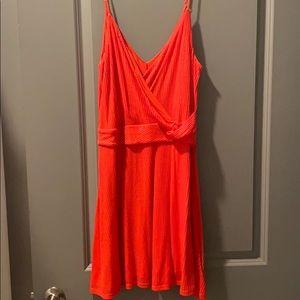 Express CrissCross Front Dress